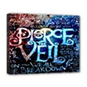 Pierce The Veil Quote Galaxy Nebula Deluxe Canvas 20  x 16   View1