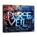 Pierce The Veil Quote Galaxy Nebula Deluxe Canvas 24  x 20   View1