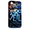 Pierce The Veil Quote Galaxy Nebula Apple iPhone 4/4S Hardshell Case (PC+Silicone) View2