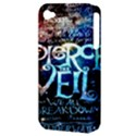 Pierce The Veil Quote Galaxy Nebula Apple iPhone 4/4S Hardshell Case (PC+Silicone) View3
