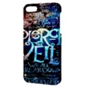 Pierce The Veil Quote Galaxy Nebula Apple iPhone 5 Hardshell Case with Stand View3