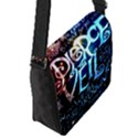 Pierce The Veil Quote Galaxy Nebula Flap Messenger Bag (S) View2