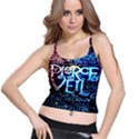 Pierce The Veil Quote Galaxy Nebula Spaghetti Strap Bra Top View1