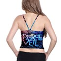 Pierce The Veil Quote Galaxy Nebula Spaghetti Strap Bra Top View2