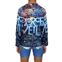 Pierce The Veil Quote Galaxy Nebula Kids  Long Sleeve Swimwear View2