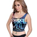 Pierce The Veil Quote Galaxy Nebula Crop Top View1