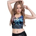 Pierce The Veil Quote Galaxy Nebula Crop Top View2