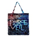 Pierce The Veil Quote Galaxy Nebula Grocery Tote Bag View1