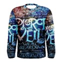 Pierce The Veil Quote Galaxy Nebula Men s Long Sleeve Tee View1