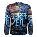 Pierce The Veil Quote Galaxy Nebula Men s Long Sleeve Tee View2