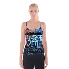 Pierce The Veil Quote Galaxy Nebula Spaghetti Strap Top