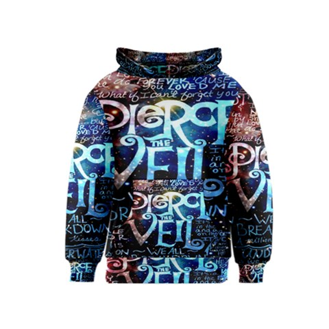 Pierce The Veil Quote Galaxy Nebula Kids  Pullover Hoodie