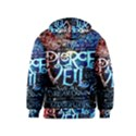 Pierce The Veil Quote Galaxy Nebula Kids  Pullover Hoodie View2