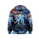 Pierce The Veil Quote Galaxy Nebula Kids  Zipper Hoodie View2