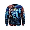 Pierce The Veil Quote Galaxy Nebula Kids  Sweatshirt View1