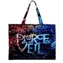 Pierce The Veil Quote Galaxy Nebula Zipper Mini Tote Bag View1