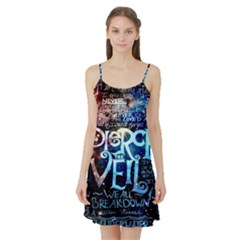 Pierce The Veil Quote Galaxy Nebula Satin Night Slip