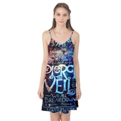 Pierce The Veil Quote Galaxy Nebula Camis Nightgown