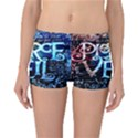 Pierce The Veil Quote Galaxy Nebula Reversible Boyleg Bikini Bottoms View1