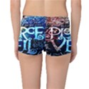 Pierce The Veil Quote Galaxy Nebula Reversible Boyleg Bikini Bottoms View2