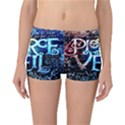 Pierce The Veil Quote Galaxy Nebula Reversible Boyleg Bikini Bottoms View3