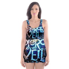 Pierce The Veil Quote Galaxy Nebula Skater Dress Swimsuit