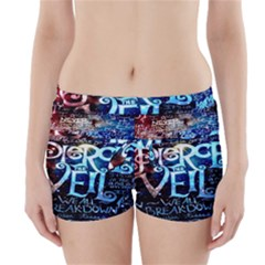 Pierce The Veil Quote Galaxy Nebula Boyleg Bikini Wrap Bottoms