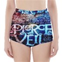 Pierce The Veil Quote Galaxy Nebula High-Waisted Bikini Bottoms View1