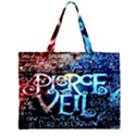 Pierce The Veil Quote Galaxy Nebula Large Tote Bag View2