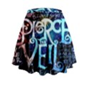Pierce The Veil Quote Galaxy Nebula Mini Flare Skirt View2
