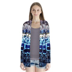 Pierce The Veil Quote Galaxy Nebula Drape Collar Cardigan