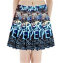 Pierce The Veil Quote Galaxy Nebula Pleated Mini Skirt View1