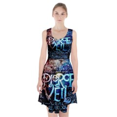 Pierce The Veil Quote Galaxy Nebula Racerback Midi Dress