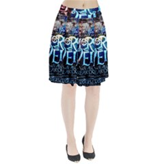 Pierce The Veil Quote Galaxy Nebula Pleated Skirt