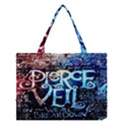 Pierce The Veil Quote Galaxy Nebula Medium Tote Bag View1
