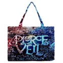 Pierce The Veil Quote Galaxy Nebula Medium Zipper Tote Bag View1