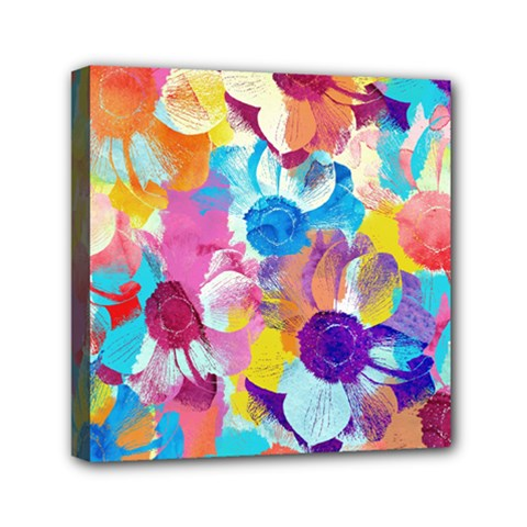Anemones Mini Canvas 6  x 6