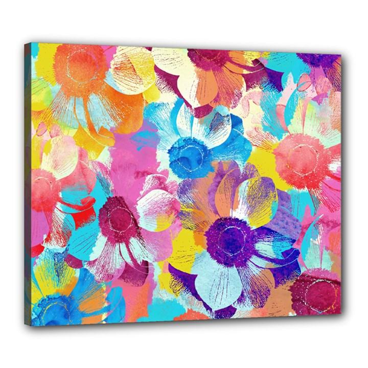 Anemones Canvas 24  x 20