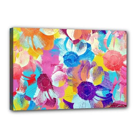 Anemones Canvas 18  x 12