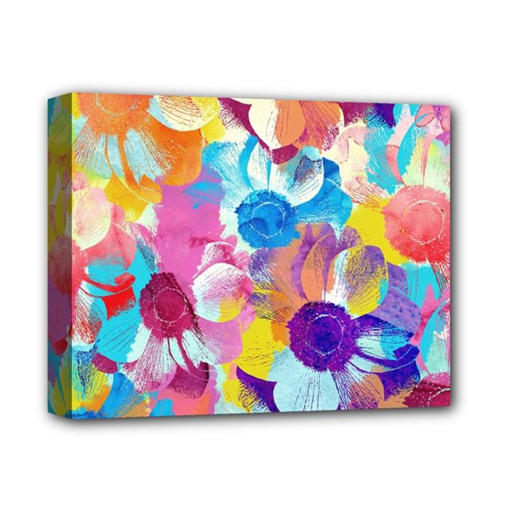Anemones Deluxe Canvas 14  x 11