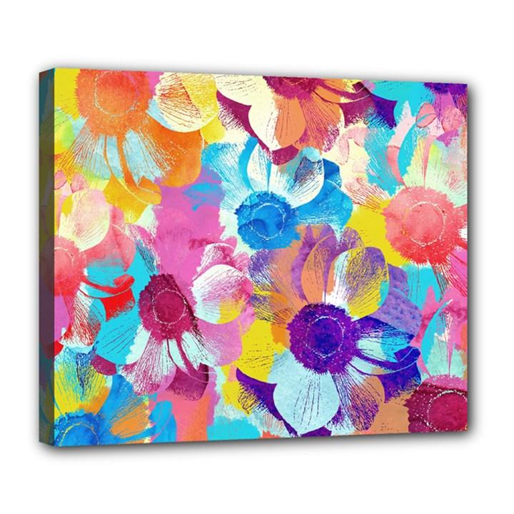Anemones Deluxe Canvas 24  x 20