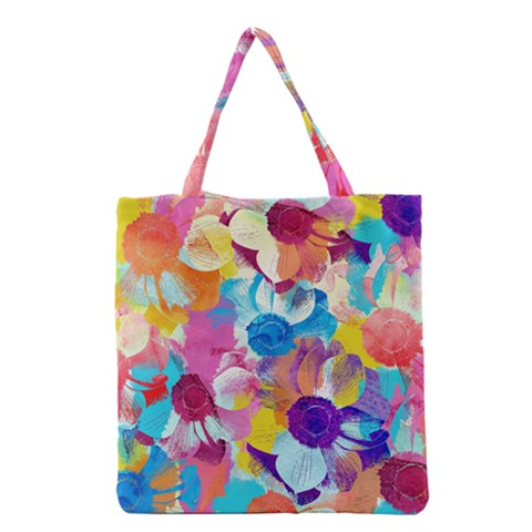 Anemones Grocery Tote Bag