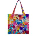 Anemones Zipper Grocery Tote Bag View2