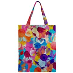 Anemones Zipper Classic Tote Bag