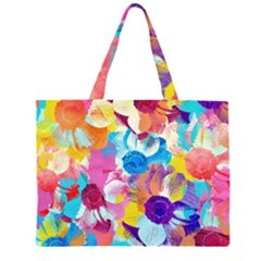 Anemones Large Tote Bag