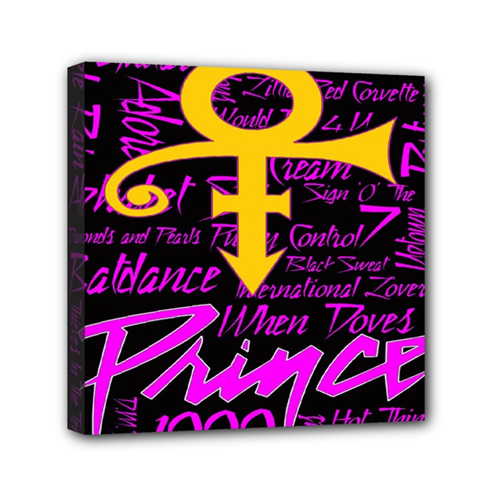 Prince Poster Mini Canvas 6  x 6
