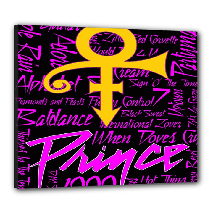 Prince Poster Canvas 24  x 20