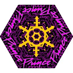 Prince Poster Mini Folding Umbrellas