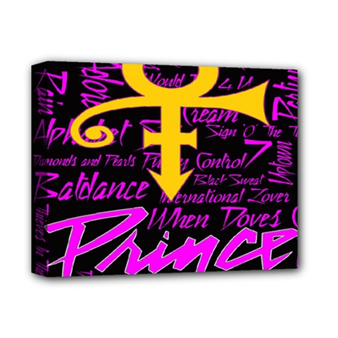 Prince Poster Deluxe Canvas 14  x 11