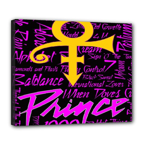 Prince Poster Deluxe Canvas 24  x 20